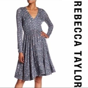 Rebecca Taylor | Lavish Garden Fit and Flare Dress